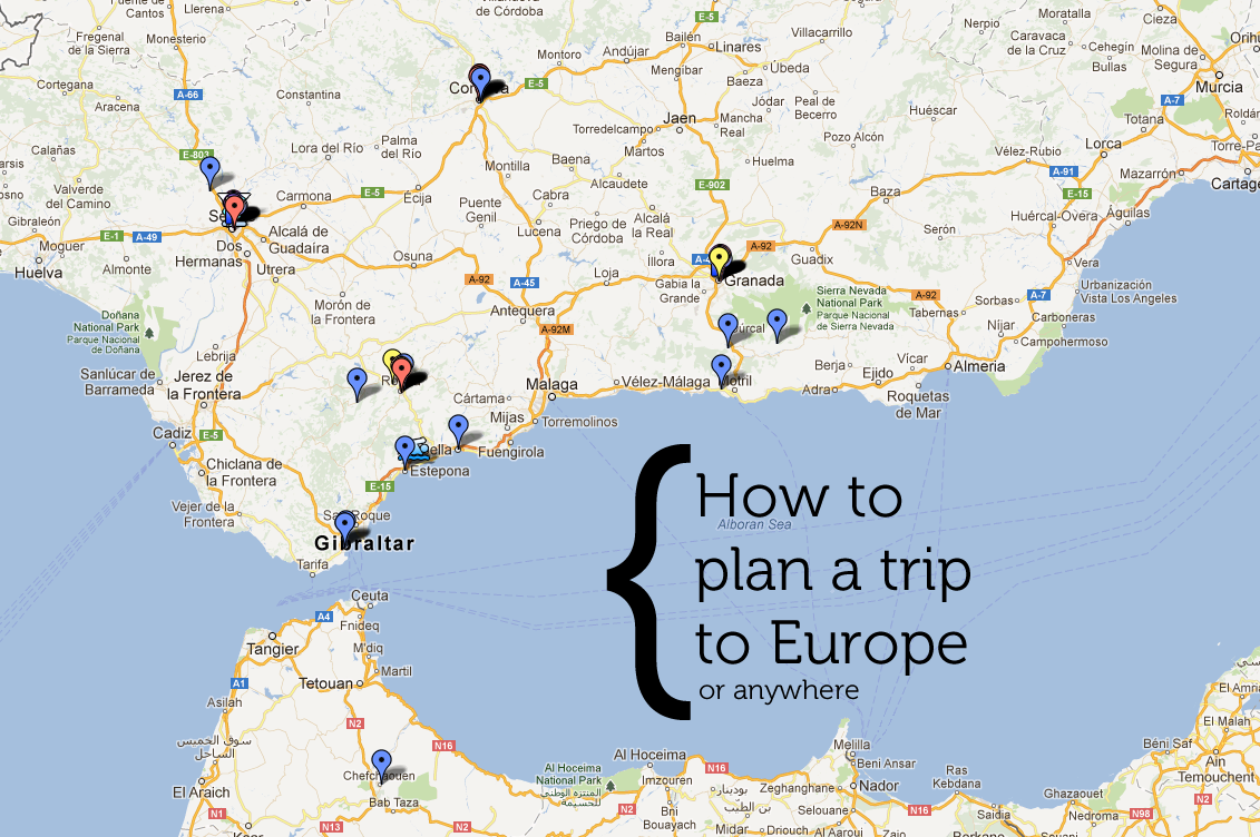 plan a trip to europe map How to plan a trip to Europe (or anywhere!) ⋆ Whitney